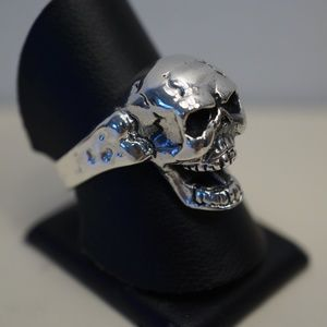 Sterling Silver (.925) Scull Ring